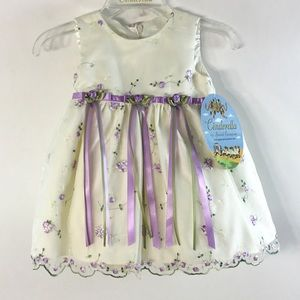 NWT, Girl's 9M Dress/Bloomer Set
